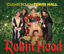 Robin Hood - Loughborough Town Hall Banner